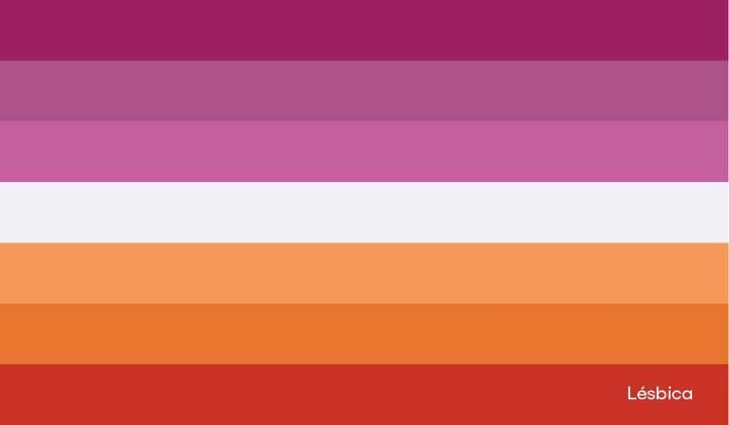 Bandera lésbica: Orgullo en Nu