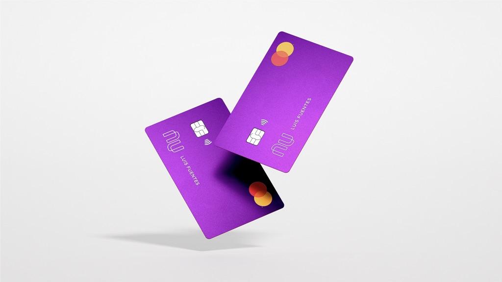 Tarjeta Nu: Nubank lança cartão no México; foto mostra o cartão Nubank roxo