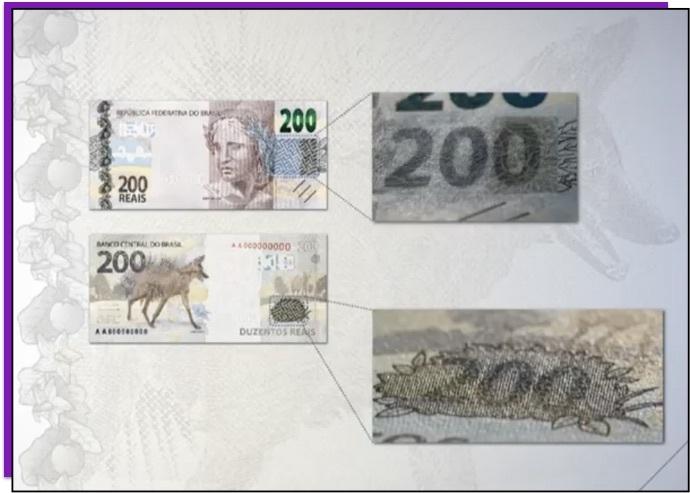 numero escondido nta de 200  - É possível copiar a nova nota de R$200? É segura?