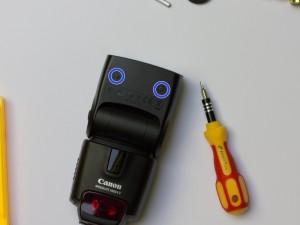 Canon Speedlite 430EX II Streuscheibe reparieren (6/6)