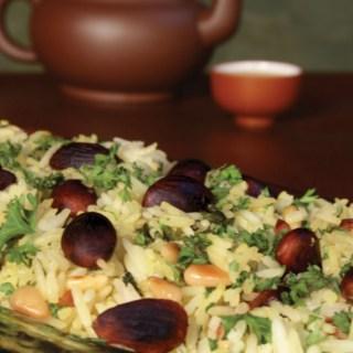 Nutty Jasmine Green Tea Rice