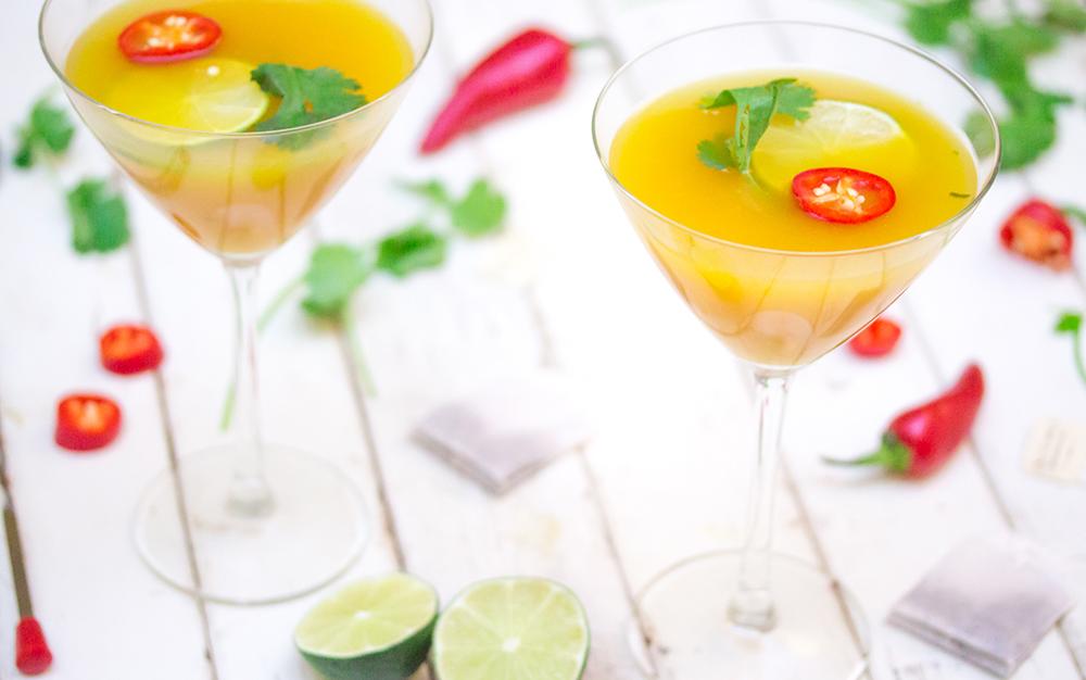 Thai Mango Martini Landscape