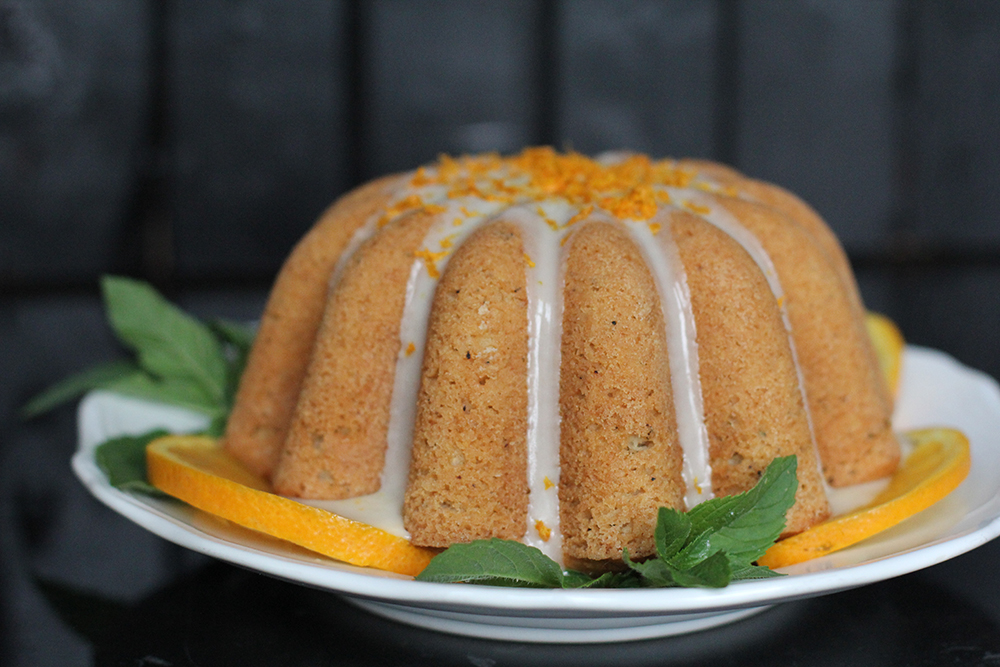 Orange Spice Tea Cake