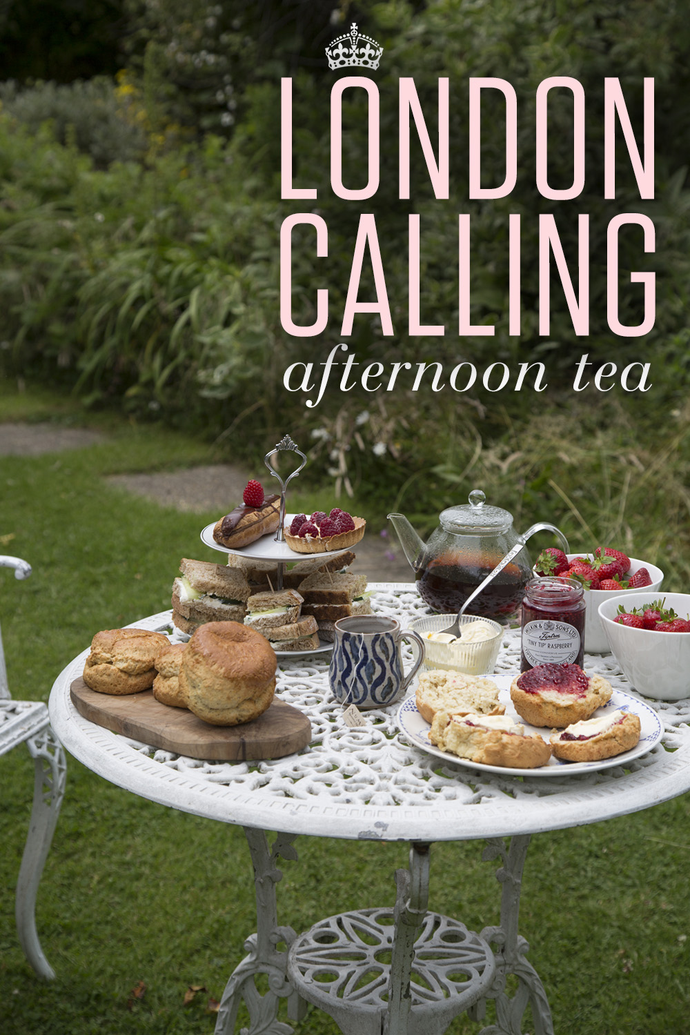 Your Guide to Hosting a British Garden Tea Party