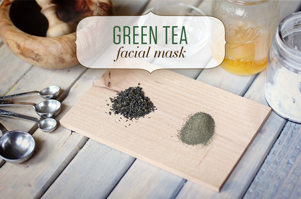 Numi Green Tea Facial Mask