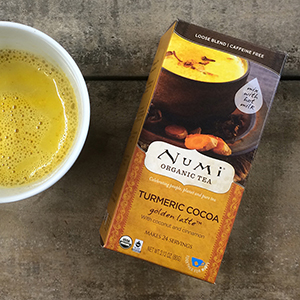 Numi Turmeric Cocoa Golden Latte