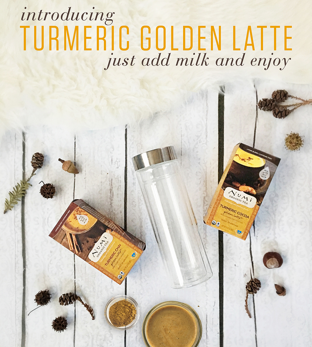 Unsweetened and made from only pure, organic ingredients, Numi's Turmeric Golden Latte mixes make it easy to enjoy a golden milk.