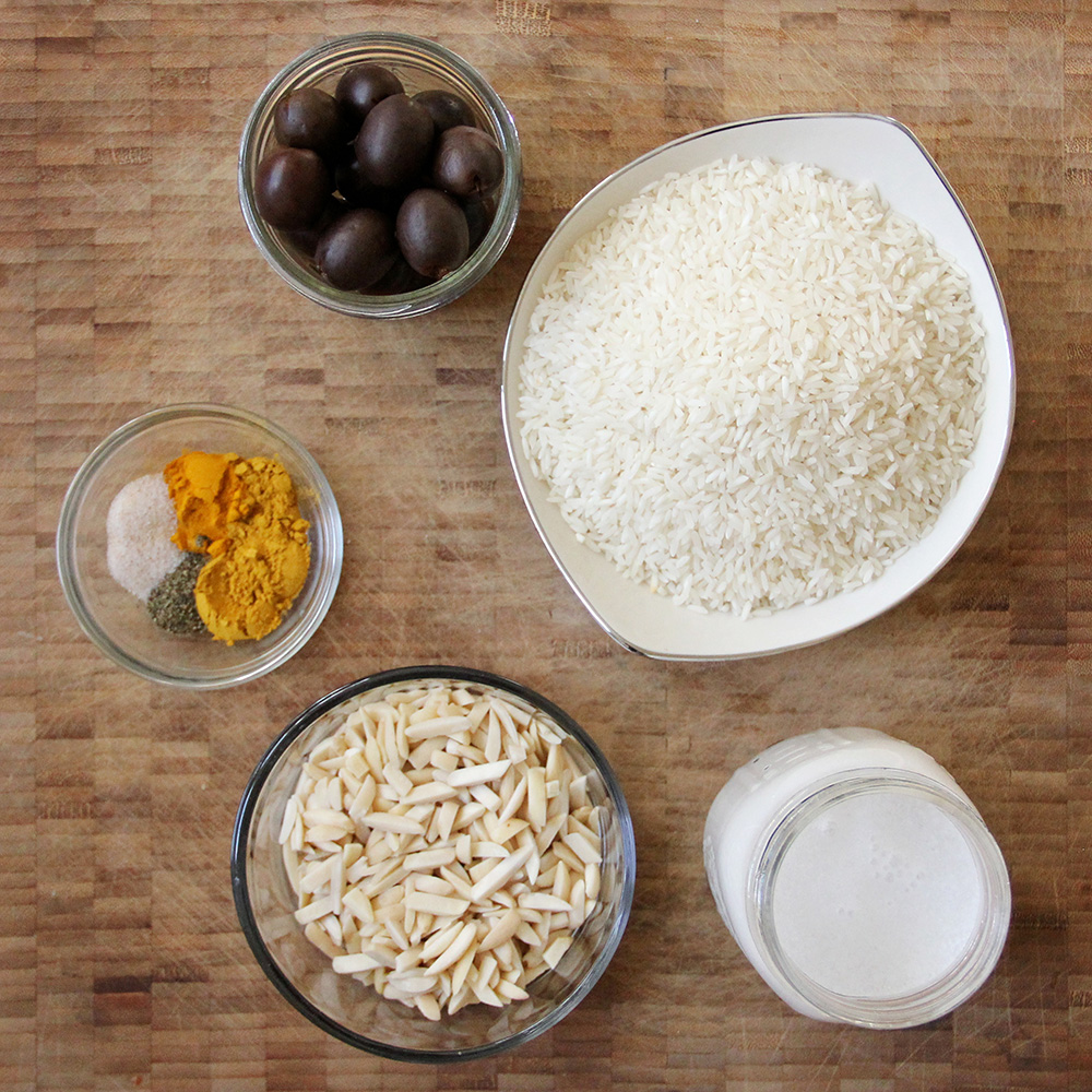 Turmeric Rice Pumpkin Ingredients