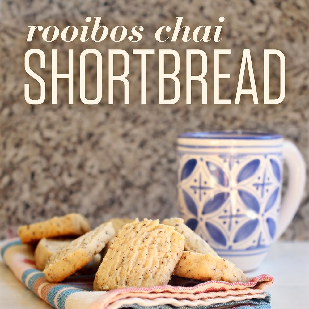 Numi Rooibos Chai Shortbread