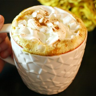 Mexican-Style Turmeric Hot Cocoa