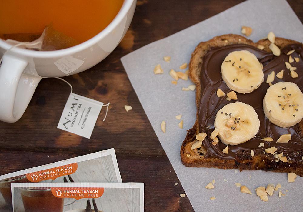 Tea and Toast Pairings - Chocolate Lovers Toast