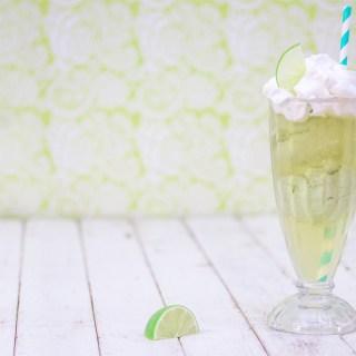 Avocado Ice Cream Tea Float