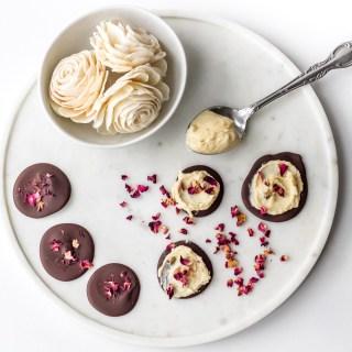 White Rose Infused Tea Chocolates