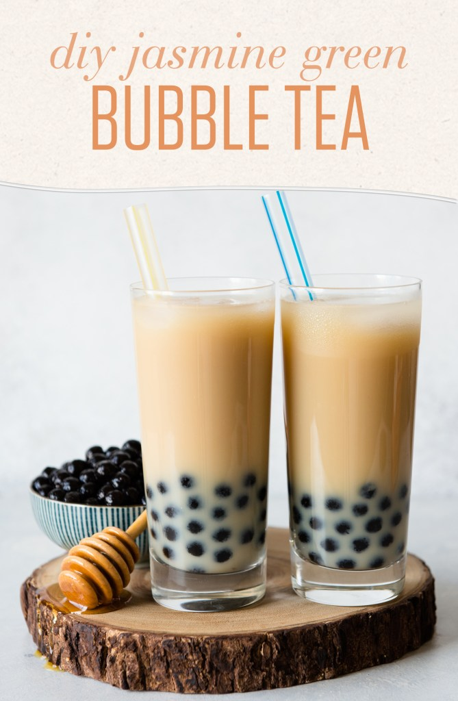 Jasmine Green Bubble Tea