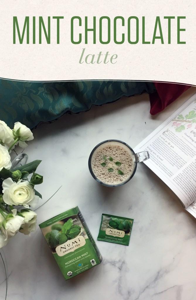 Mint Chocolate Latte