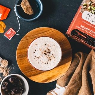 Chai Latte with Cordyceps Mushroom Elixer