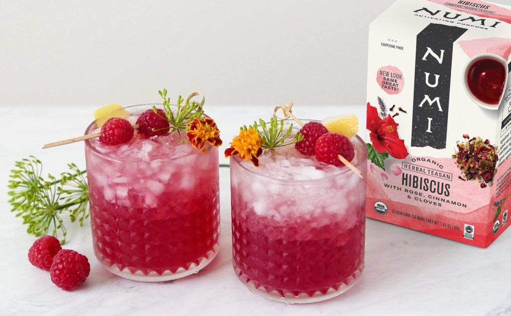 Hibiscus Raspberry Mocktail by Numi Organic Tea