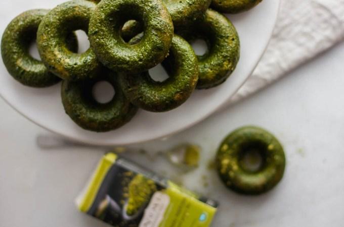 matcha donuts