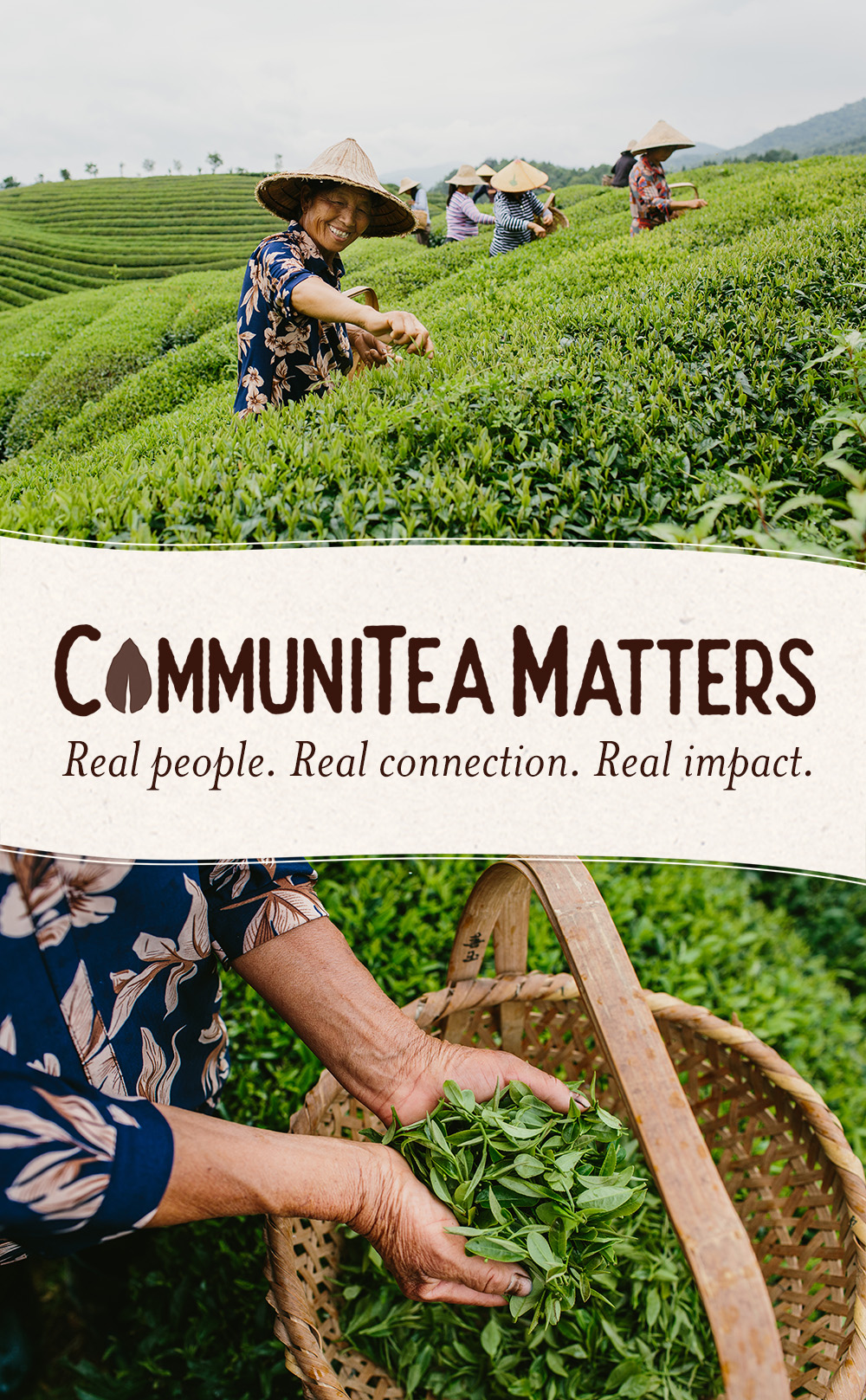 #CommuniTea Matters. At Numi Organic Tea, we believe that socially responsible, ethically conducted business fosters healthy, thriving global communities from farm to cup.