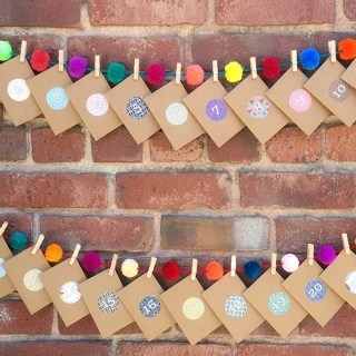 Daily Acts of Gratitude Calendar DIY