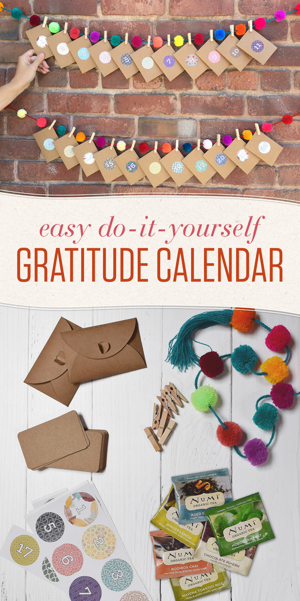 This easy do-it-yourself Gratitude Calendar is a fun way to cultivate an attitude of gratitude, leading to greater happiness and overall well-being.💕