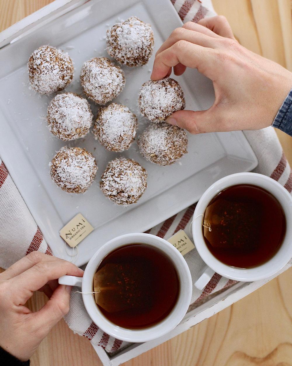Chocolate Snowball Cookies