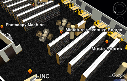 3D Interactive Map Enhancements     LiNUS   NUS Libraries Blog Music Library 3D map