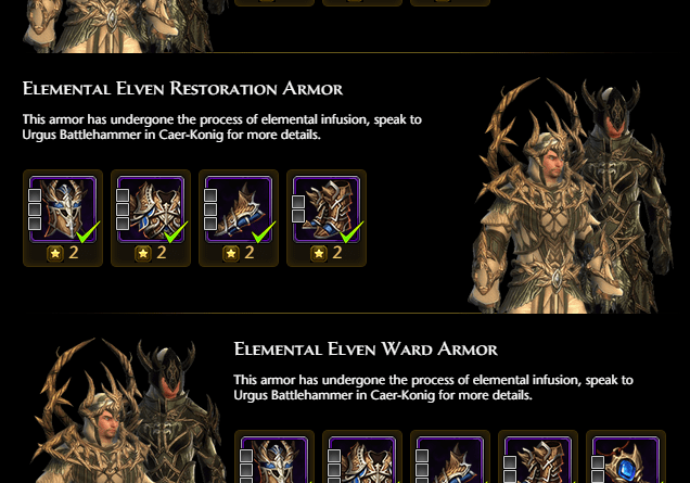 Paladin Gear Collection