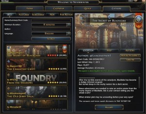 Foundry UI
