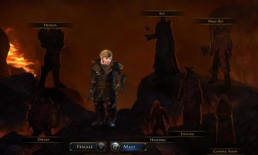Character Creator Screen