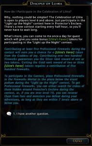 Lliira Event Explanation
