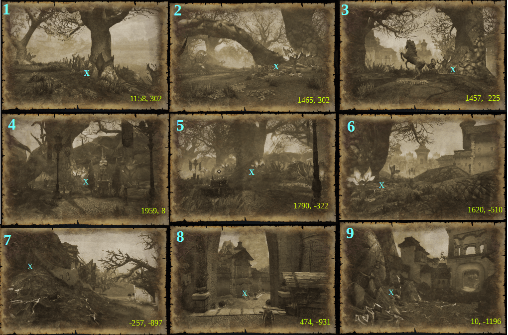 river district treasure map locations and guide neverwinter