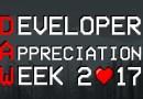 Developer Appreciation Week 2017