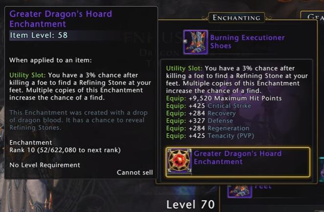 Dragon's Hoard Enchantment