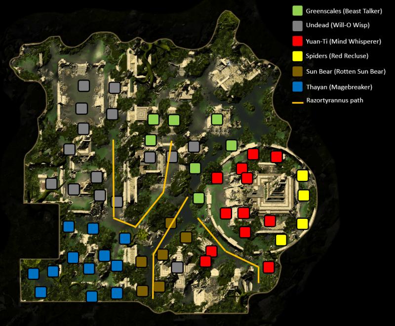 Mod 13 Mob Locations Omu