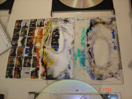 Damaged CD of images. Photo courtesy of Te Rūnanga o Ngāi Tahu.