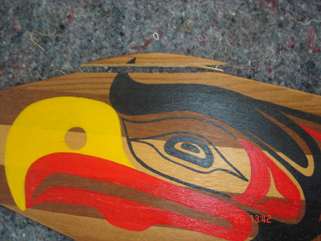 Damaged wooden item. Photo courtesy of Te Rūnanga o Ngāi Tahu.