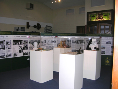 Teschemakers exhibition. Photo courtesy of North Otago Museum.