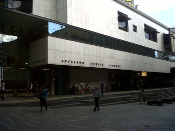 Auckland Public Library. Image courtesy of Sally August.