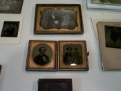 A selection of daguerreotypes and ambrotypes. Image courtesy of Sally August.