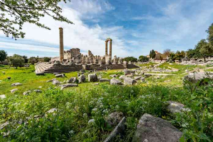 Didim Apollon tapınağı