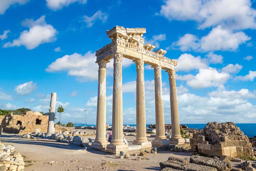 apollon tapınağı side ile ilgili görsel sonucu
