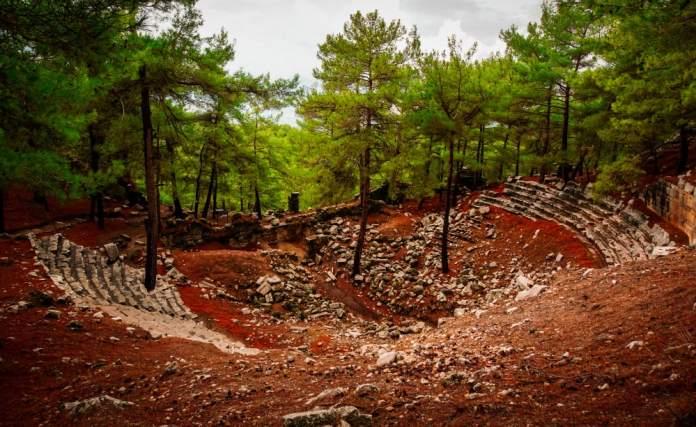 Kadyanda (Cadianda) Antik Kenti