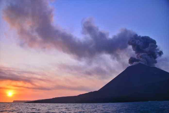 Krakatoa Volkano