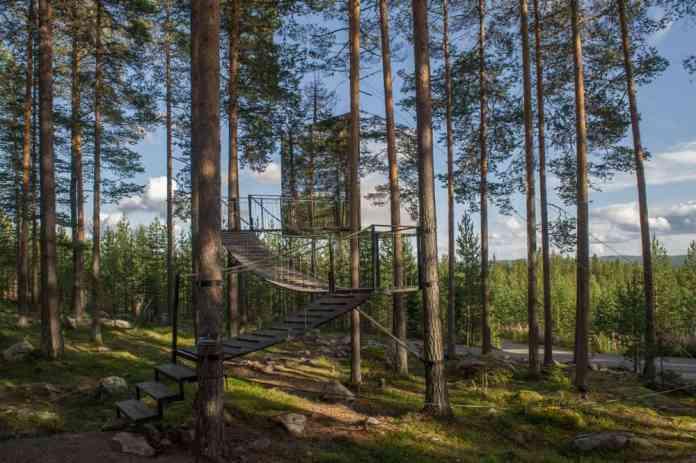Treehotel, Harads,İsveç