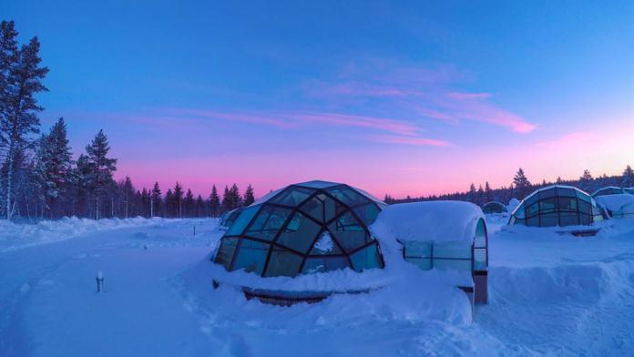 Otel Kakslauttanen,Finlandiya