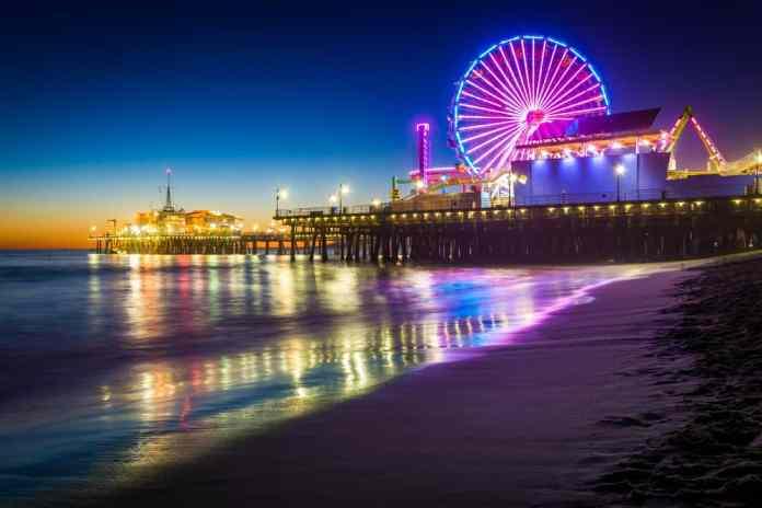 Santa Monica Plajı Los Angeles (2)