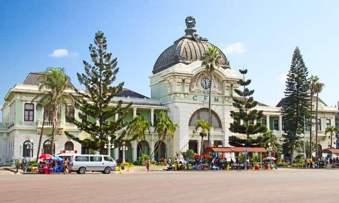 Maputo Tren İstasyonu, Maputo, Mozambik
