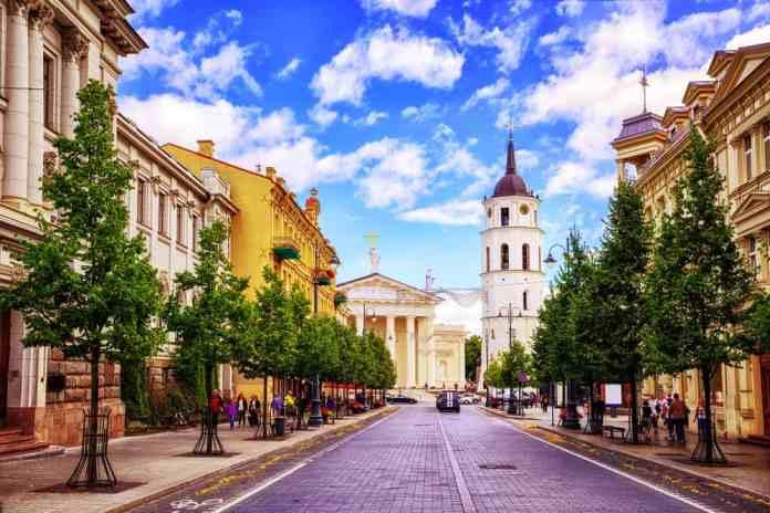 Gediminas Bulvarı Vilnius