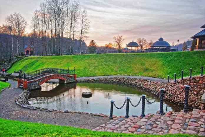 Belmontas Parkı Vilnius